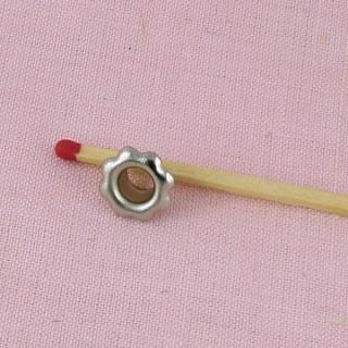 Round circle mini snaps fastener