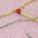 Poupée 1/12  bijoux chaine au mètre
