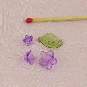 Round plastic beads 10 mms.