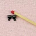 Metal bow, decoration, bracelet charm, charms 1,3 cms.