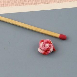 Small ribbon rose, fabric...