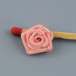 Small rose ribbon 12 mms