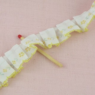 Piping Pleated quilt binding ribbon, 20 mms, 2 cms