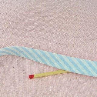 Double Fold Striped  bias Tape, 13 mms.