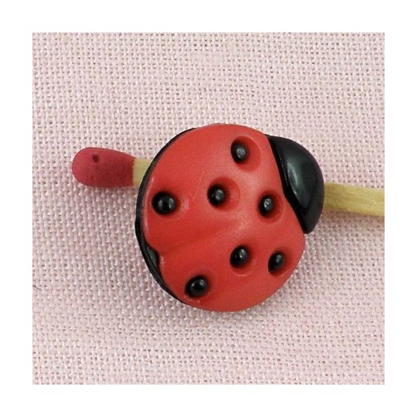 Coccinelle Boutons