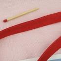 Biais uni plié 1 cm vendu au mètre