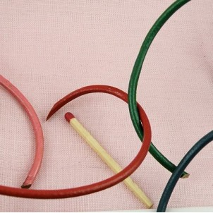 Rouleau cordon lacet 3 mm cuir au mètre