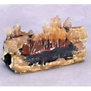 Flames for miniature chimney house headstock