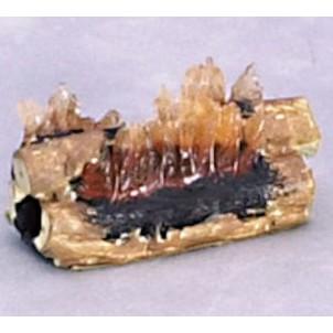 Flammes pour cheminée miniature maison poupée