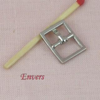 Muñeca de cinturón de hebilla de metal en miniatura 17 mm.