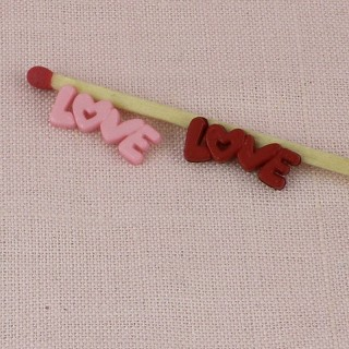 Love Message, embellishment, charm