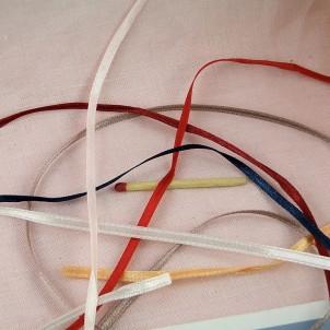 Satin ribbon 4 mms