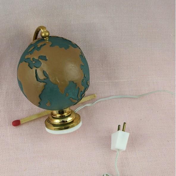 globe terrestre antique miniature. Black Bedroom Furniture Sets. Home Design Ideas