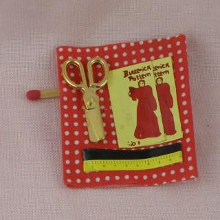 Couture miniature maison de poupée