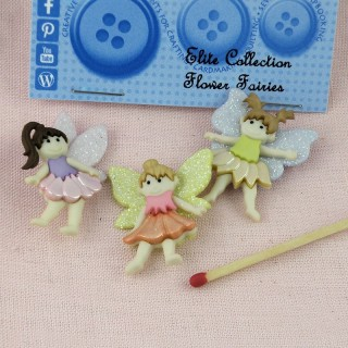 Fairies buttons Dress it up