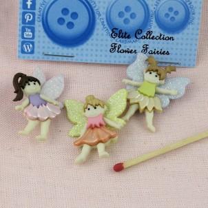 Fairies buttons Dress it up