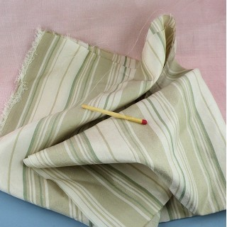 Fabric pure silk striped meter