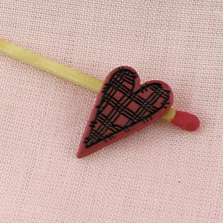 Buttons shank Heart