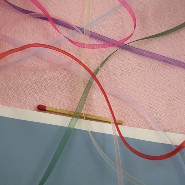 Organza  ribbon 4 mms.