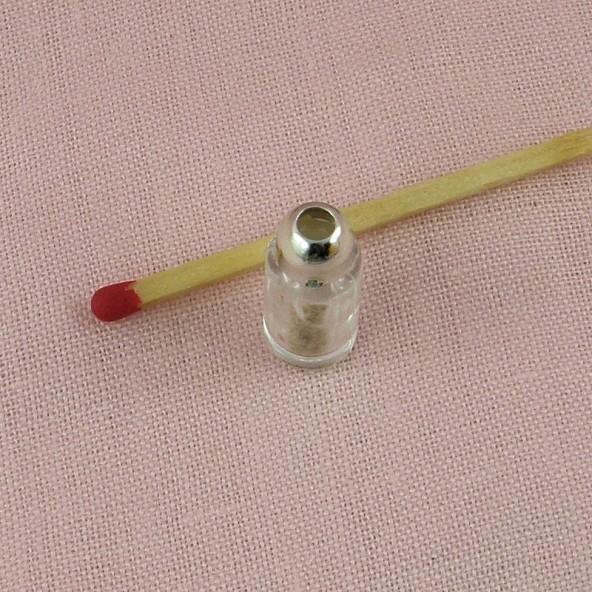 Poivre miniature maison poupée, 2 cm.