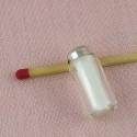 Sucrier miniature maison poupée, 2 cm.