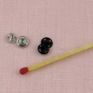 Snaps sew-on fastener 5 mm metal