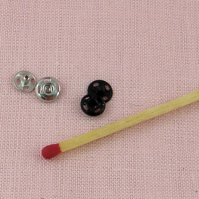 Bouton miniature Bouton métallique Bouton de couture Des habits de poupée