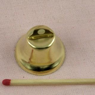 Glocke Miniaturkleine Glocke 26 mm.