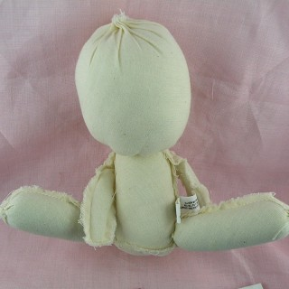Musslin doll, rag doll, decoration 20 cm.
