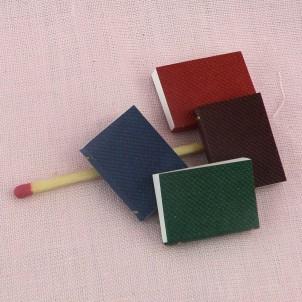 Miniature, book, tiny book,  2,2 cm x 1,5 cm.