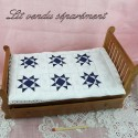 patchwork cover bed