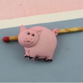 Plastic shank Button pig
