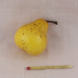Pears fruit miniature for doll, toys fruit
