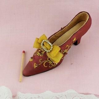 Chaussure miniature décoration 12 cm