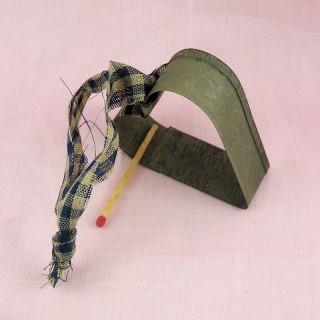 Dinette: passoire cuisine, miniature poupée 5,5 cm, 55 mm.