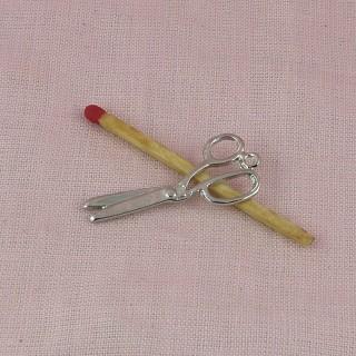 Anhänger Scheren Miniatur Haus Puppe 3 cm