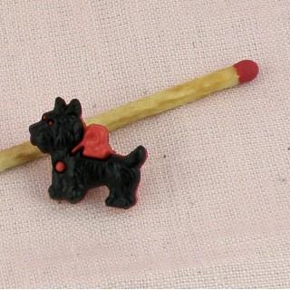 Botón perro perro de aguas Yorkshire