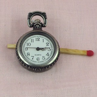 Pendent lid pocket watch lady jewel