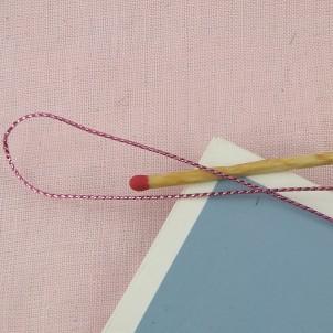 Metallic cord 1 mm.