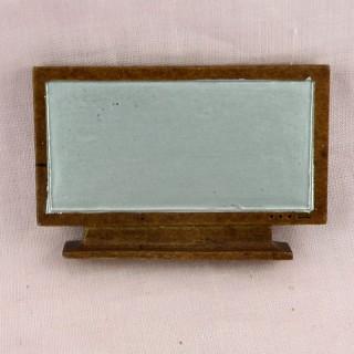 Télévision grand écran plat miniature maison poupée