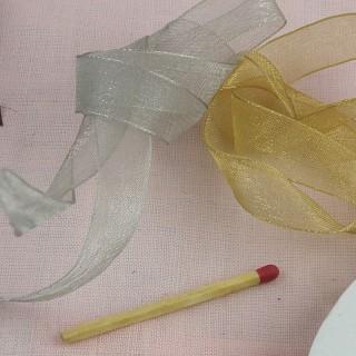 Picots edge ribbon mini 8 mms.