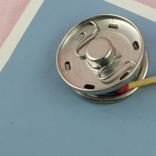 Big metal pressure stud fastener, snaps closure 35 mms