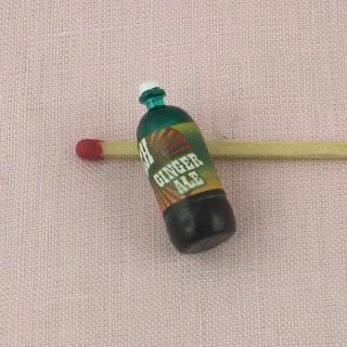 Botella cerveza miniatura casa muñeca