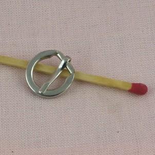 Buckle d dee small mini 16 mm