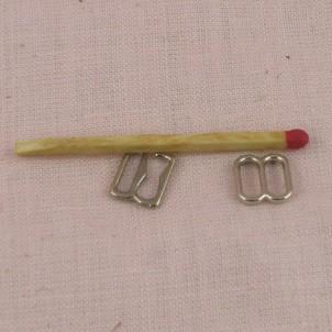 Doll bracesToggle claps, jewelry closure, 15 mms