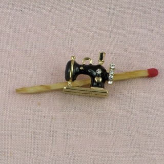 Pendant Charms sewing machine miniature,