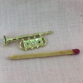 Instruments musique miniatures poupée