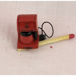 Miniature kitchen metal blender doll miniature