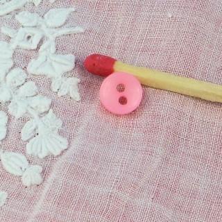 Bouton mercerie minuscule 6 mm.