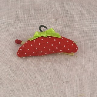 Hanger fabric mini 5 cms doll clothes